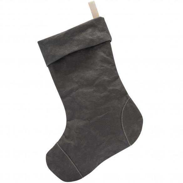 Julesok i mørkegrå Aggo® papir fra UASHMAMA