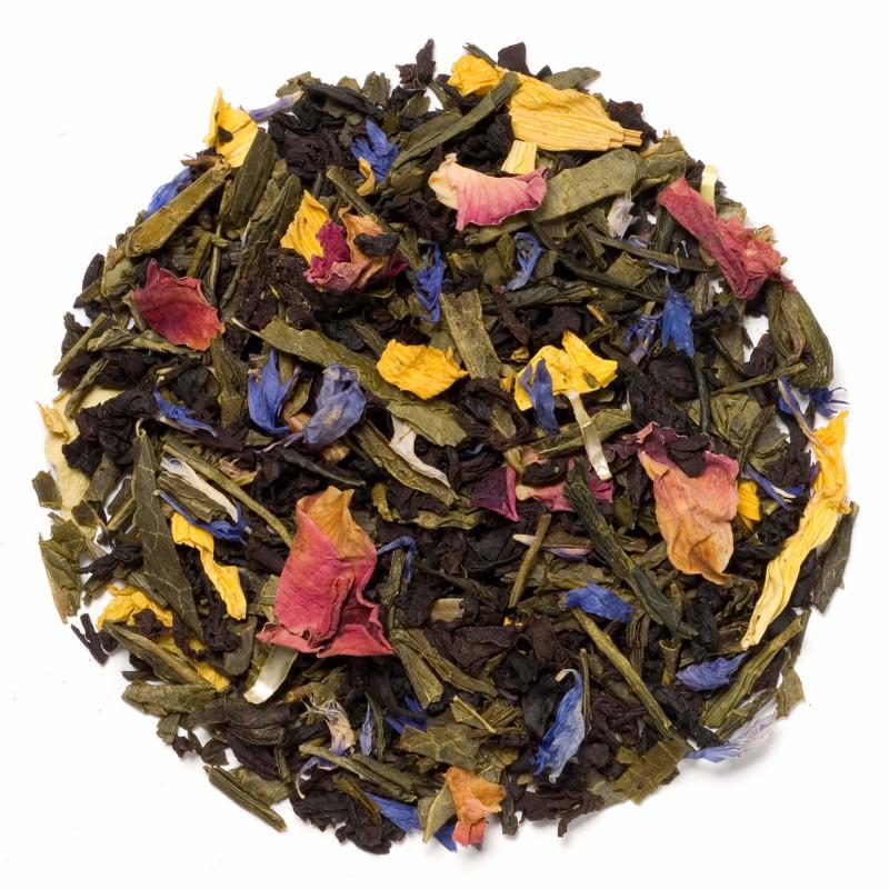 Bjergblomst te fra Chaplon Tea i refill æske