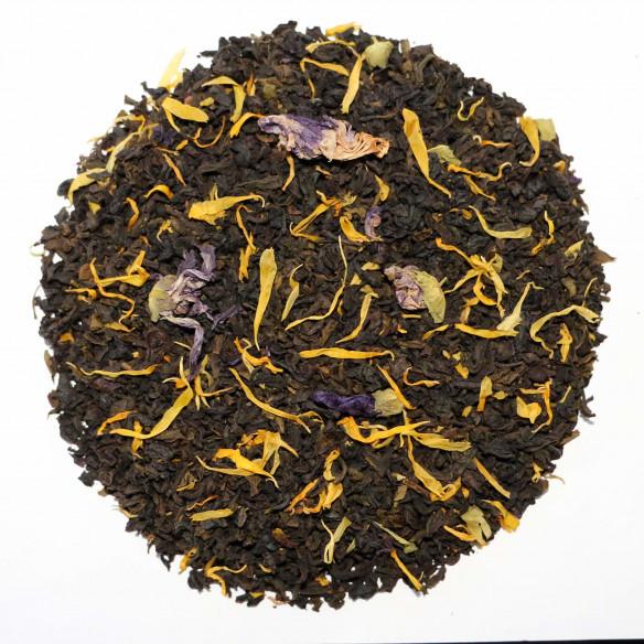 Grøn og sort kvæde te fra Chaplon Tea, 700 gram løs te