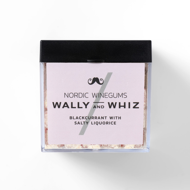 Vingummi med solbær og saltlakrids fra Wally and Whiz