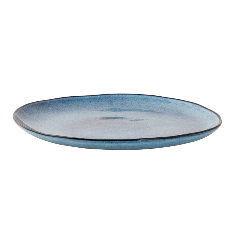 Sandrine Stor Blå Middagstallerken Ø28,5 cm - Bloomingville