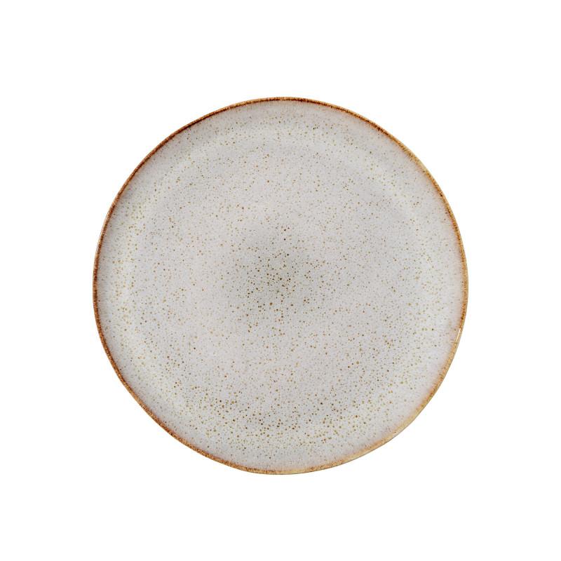 Sandrine Tallerken, grå (Ø 20 cm) - Bloomingville