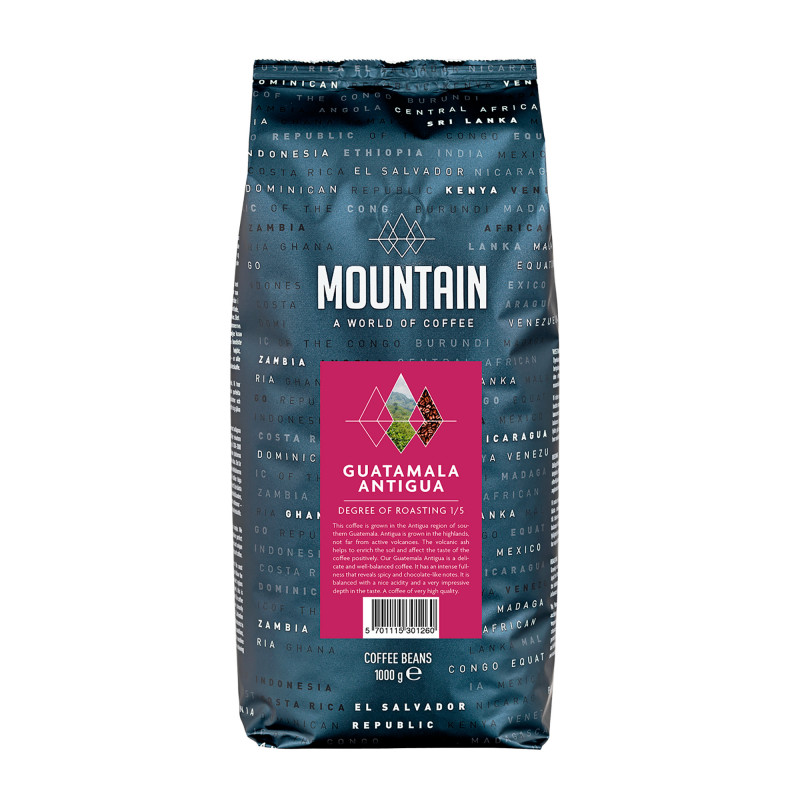 Mountain Guatemala Antigua Kaffebønner