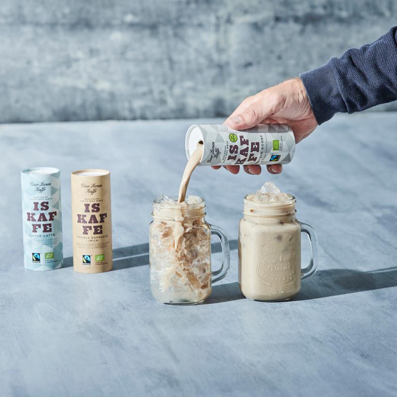 Iskaffe Double Espresso + Milk - Peter Larsen Kaffe