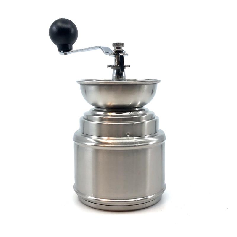 Kaffemølle med håndsving fra Horwood