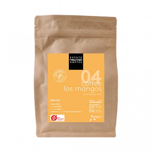 Los Mangos kaffebønner fra Estate Coffee. Pose med 200 gram