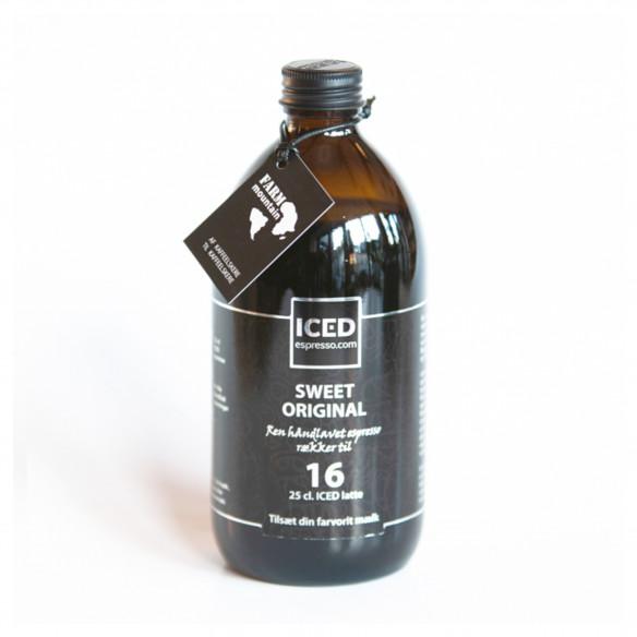 ICED Espresso Original Sweet færdig espresso fra Farm Mountain