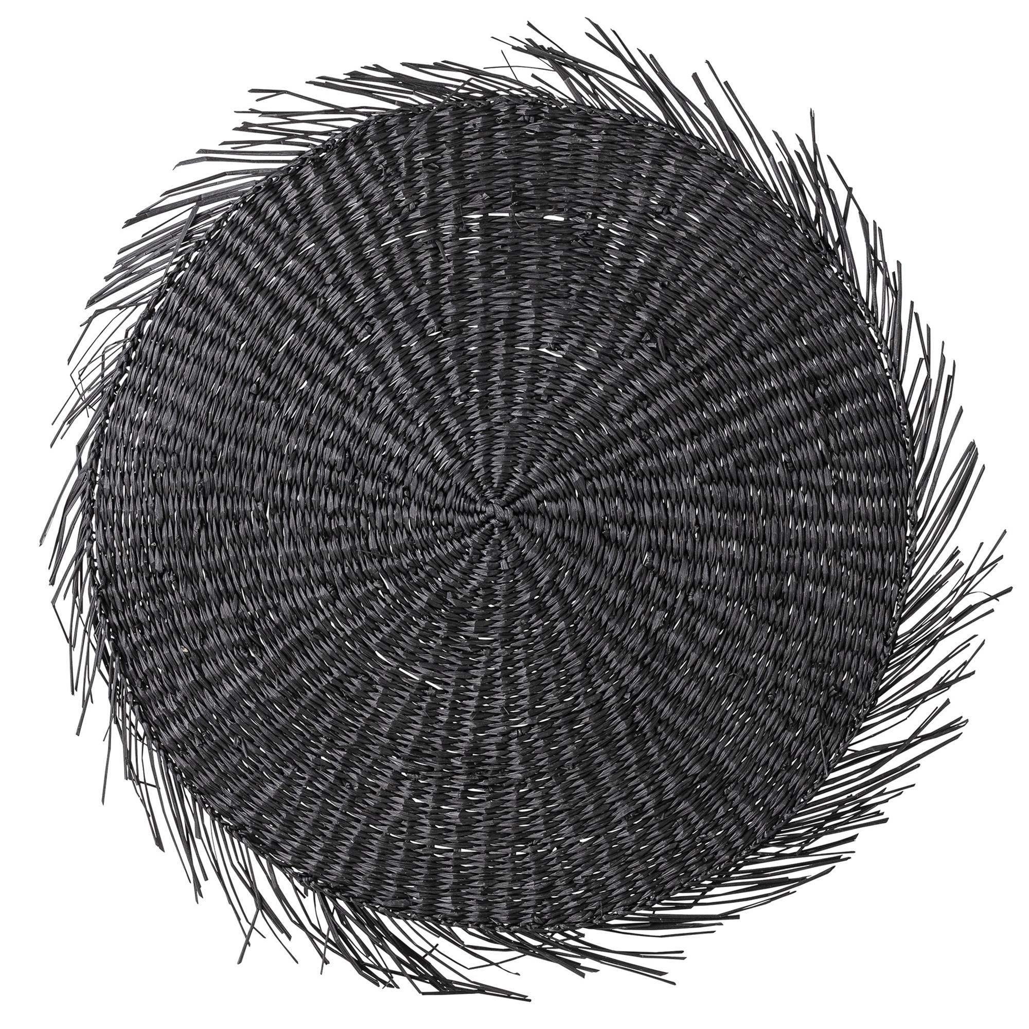 Ilsa Dækkeserviet, sort – Søgræs