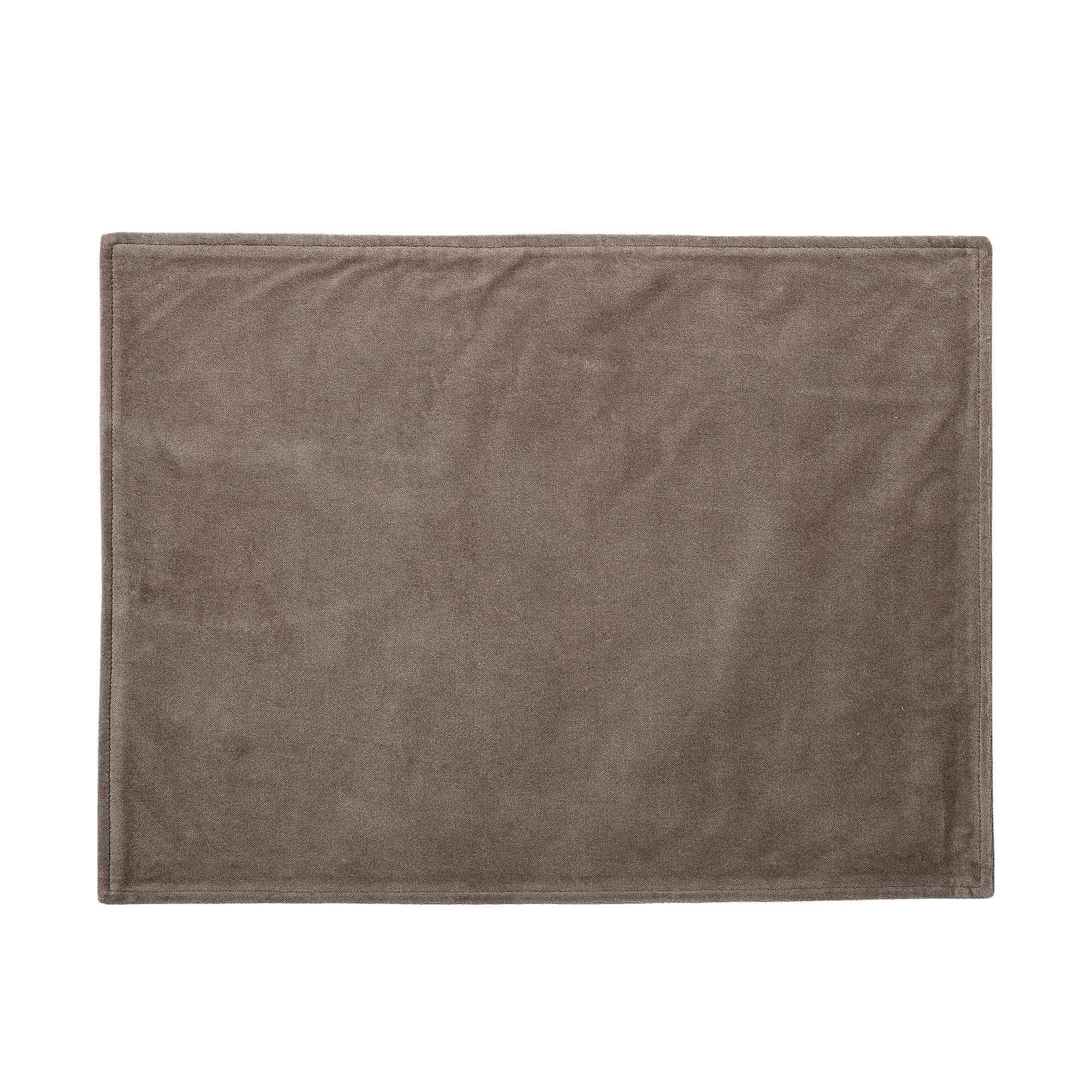 Kawa Dækkeserviet, brun – Bomuld
