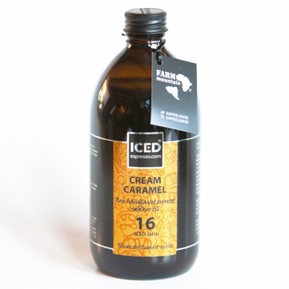 ICED Espresso Cream Caramel (500 ml) fra Farm Mountain