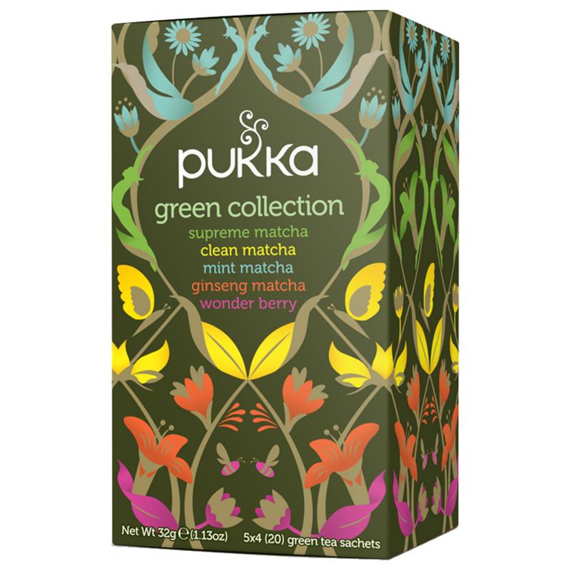 Pukka Green Collection, 20 tebreve