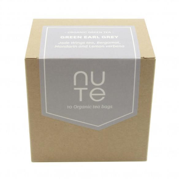 Green Earl Grey Te i Æske fra NUTE