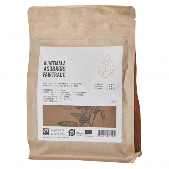 Guatemala Asobagri ØKO FT - Peter Larsen Kaffe