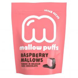 Mallow Puffs Raspberry (100 gram) fra BARÚ