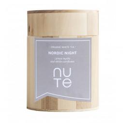 Nordic Night fra NUTE - 100 gram løs te i trædåse