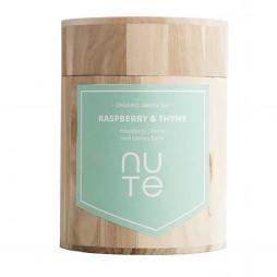 Green Raspberry & Thyme fra NUTE - 100 gram i trædåse
