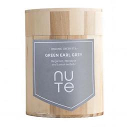Green Earl Grey fra NUTE - 100 gram i trædåse