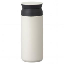 Hvidt Termokrus, Travel Tumbler Fra Kinto - 500 ml