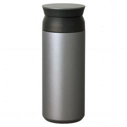 Silver Travel Tumbler Termokrus Fra Kinto - 500 ml