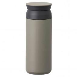 Travel Tumbler termokrus, khaki 500 ml fra Kinto