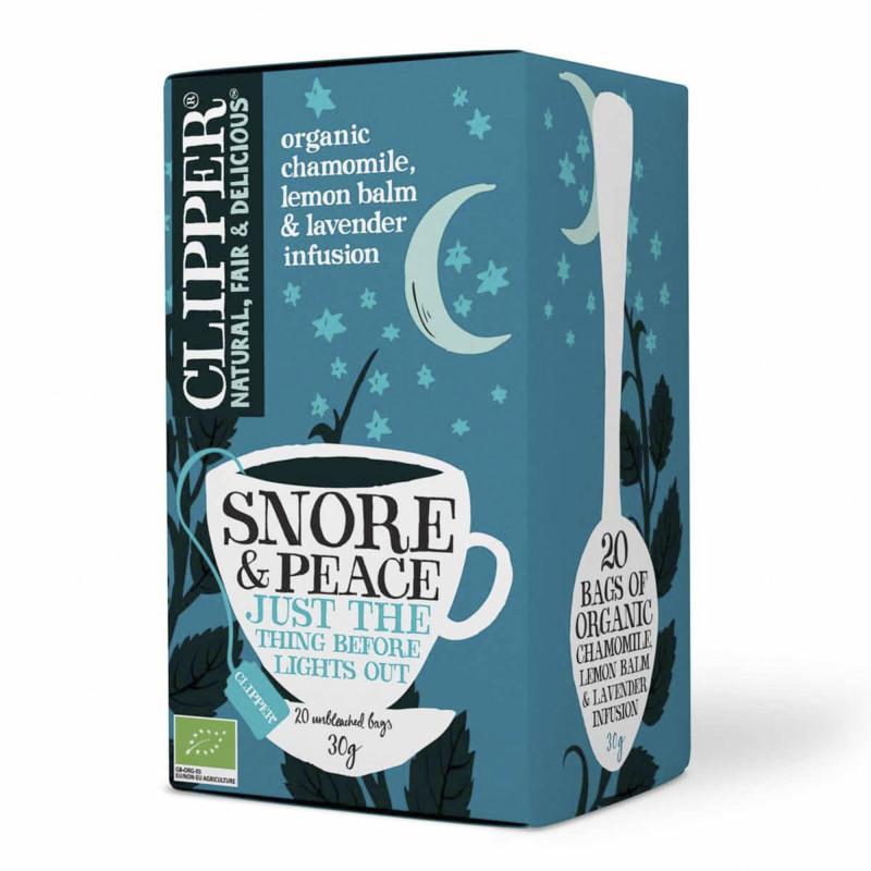 Organic Snore & Peace, 20 tebreve fra Clipper