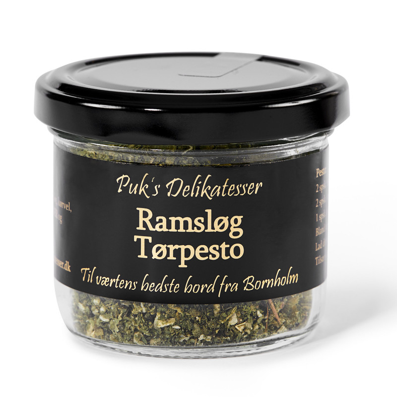 Ramsløg Tørpesto - Puk's Delikatesser