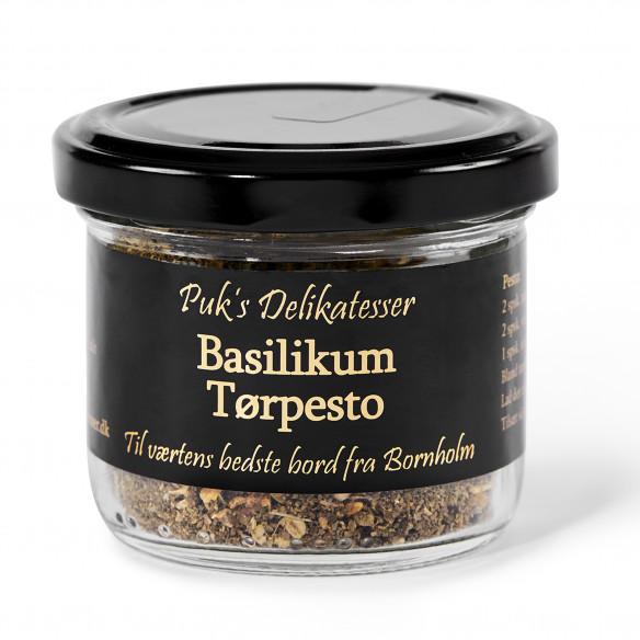 Basilikum Tørpesto - Puk's Delikatesser
