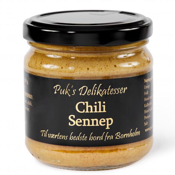 Chili Sennep - Puk's Delikatesser