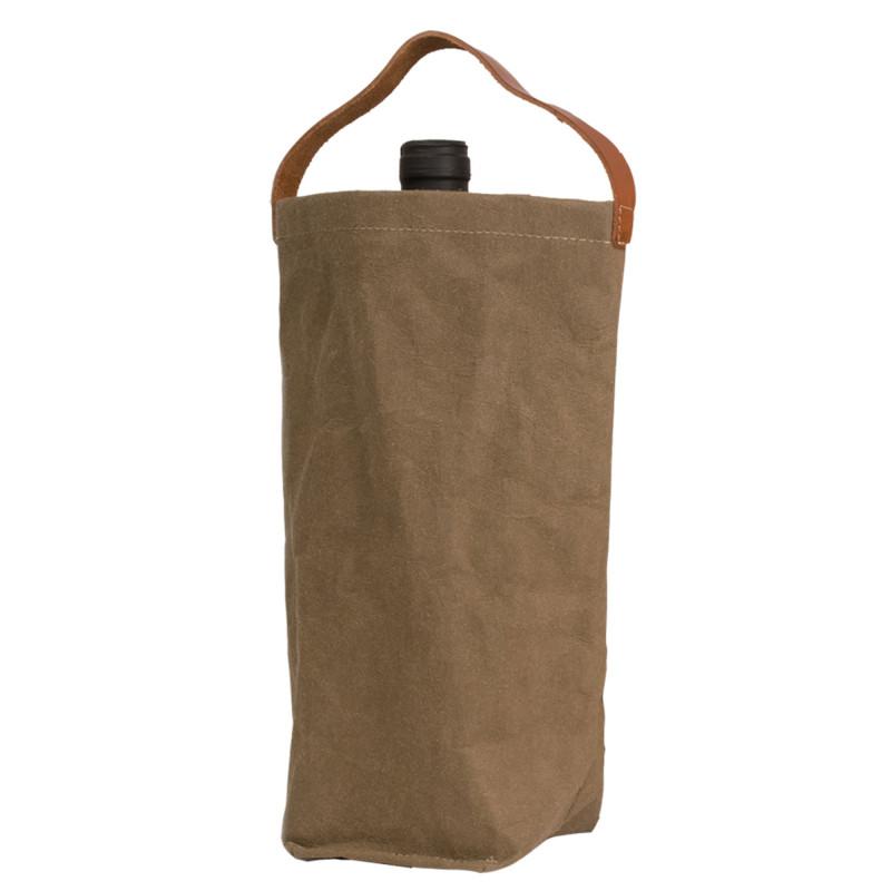 Vinpose i bæredygtig papir fra UASHMAMA - Oliven