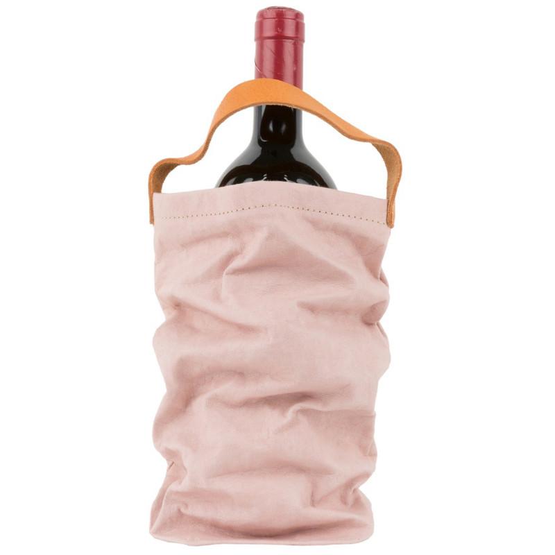 Vinpose i bæredygtig papir fra UASHMAMA - Rosa Quarzo