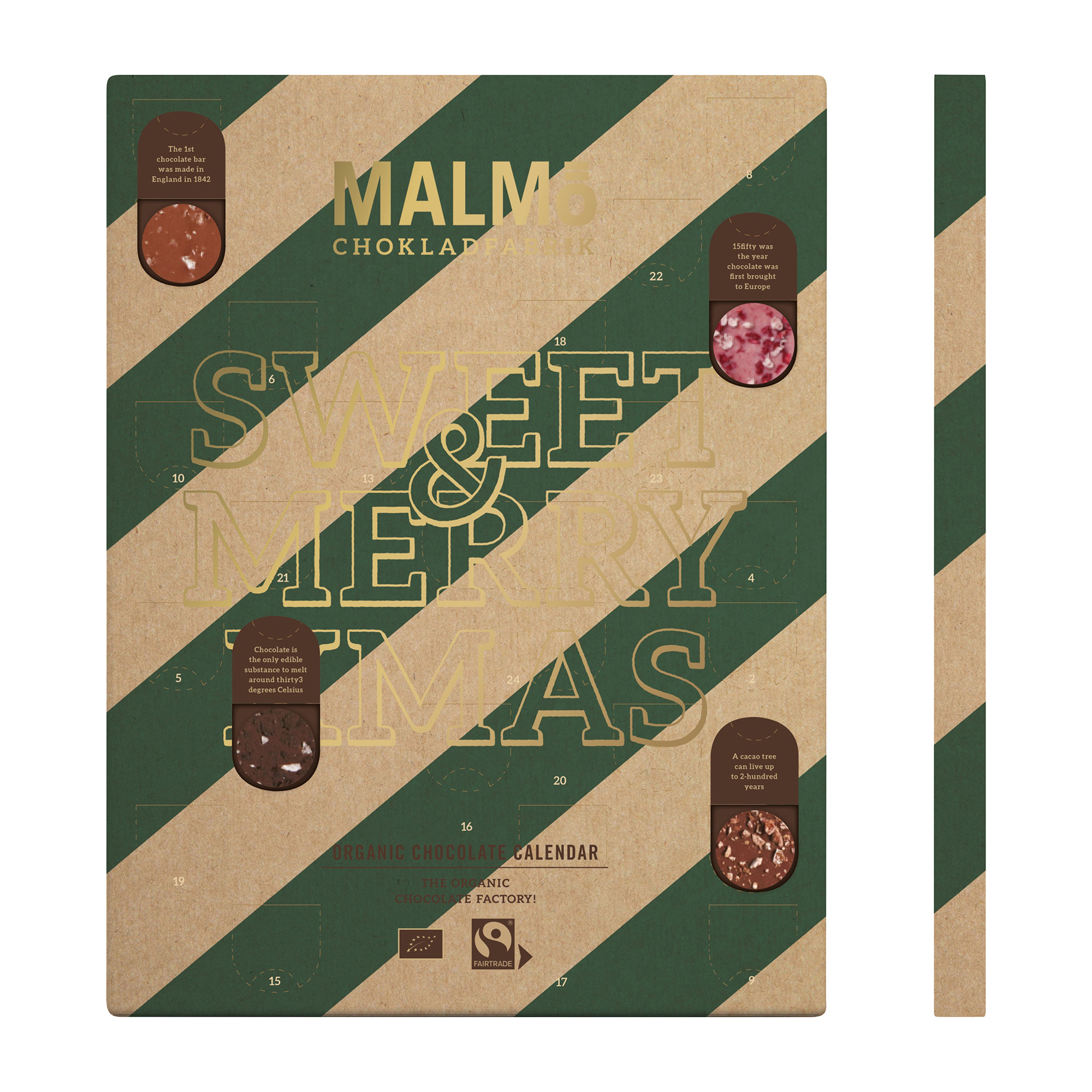 Økologisk Chokolade Julekalender