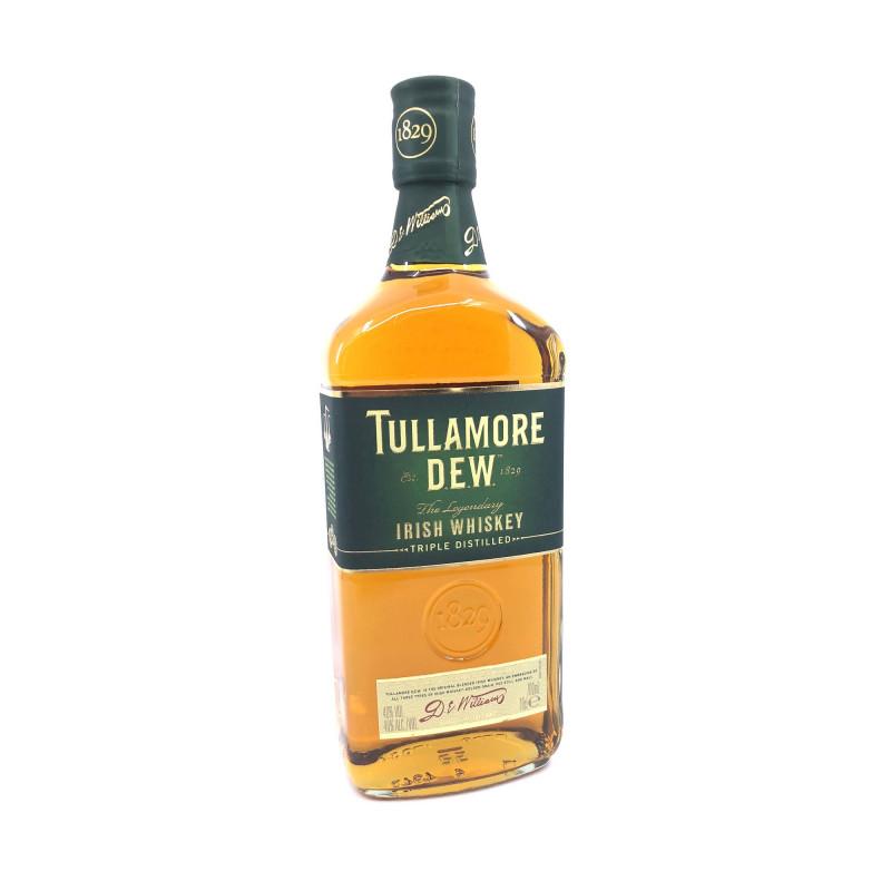 Flaske med 70 cl Tullamore Dew whiskey