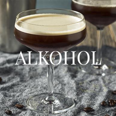Lækkert udvalg af spiritus og alkohol